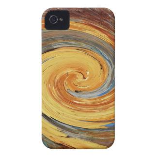 Strudel - Farben des Rosts/der Rost-Kunst iPhone 4 Case-Mate Hüllen