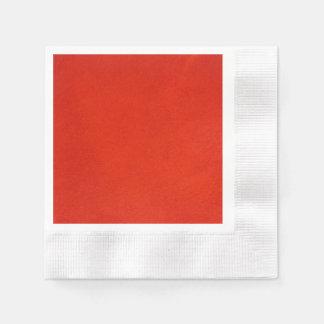 Strukturiertes Hochrot Papierserviette