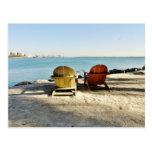 Stück in im Stadtzentrum gelegener Miami-Postkarte