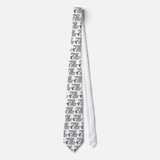 Stück ist mit Ihnen Bedruckte Krawatte