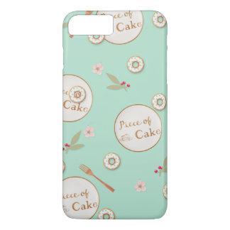 Stück Kuchen-Sommer-Nachtische iPhone 8 Plus/7 Plus Hülle