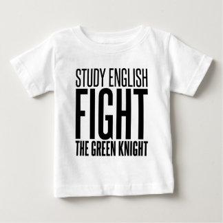 Studien-Englisch, kämpft den grünen Ritter Baby T-shirt