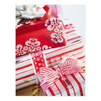 Studio-Schussweihnachtsgeschenke 2 Postkarte