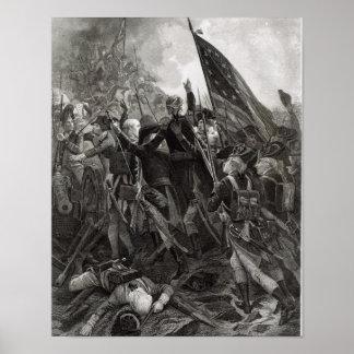 Stürmen des steinigen Punktes, im Juli 1779 Poster