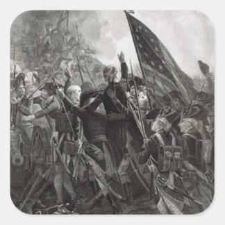 Stürmen des steinigen Punktes, im Juli 1779 Quadratischer Aufkleber