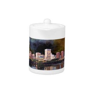 Stürmische Richmond-Skyline