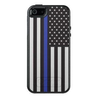Stützen Sie den Polizei-dünnen Blue OtterBox iPhone 5/5s/SE Hülle