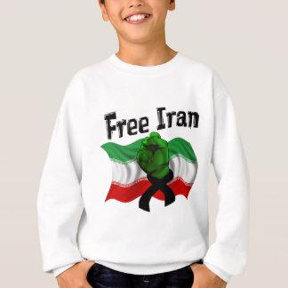Stützen Sie die grüne Welle, den freien Iran Sweatshirt