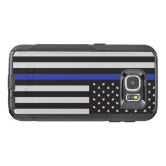Stützen Sie die Polizei-dünne Blue