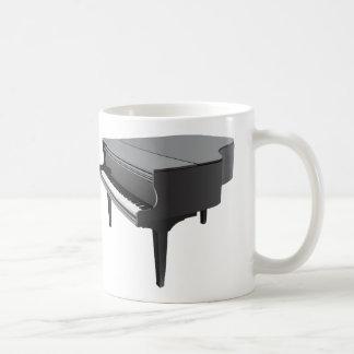 Stutzflügel-Klavier-Kaffee-Tasse Tasse