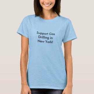 Stützgas-Bohrung in New York! T-Shirt