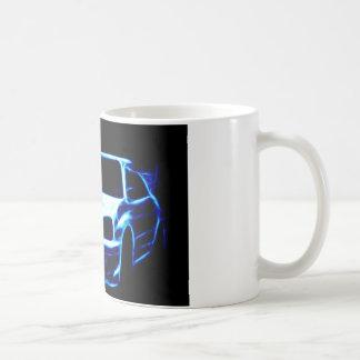 Subaru Impreza Kaffee Tasse