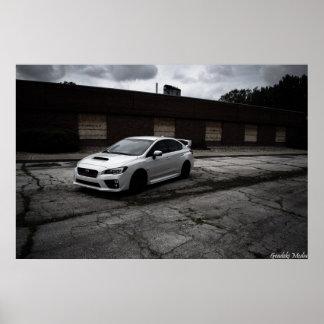 Subaru-WTI-Eindringling Poster