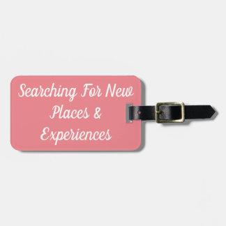 Suchen nach neuen Plätzen u. Kofferanhänger