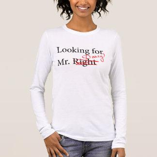 Suchen von Herrn Darcy Langärmeliges T-Shirt