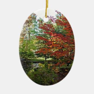 Suchende Einsamkeit Keramik Ornament