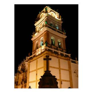 Sucre-Kirchennacht Postkarte
