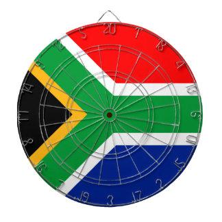 Südafrika-Flagge Dartscheibe