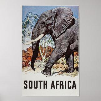 Südafrika-Reise-Plakat (2) Poster