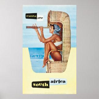 Südafrika-Reise-Plakat Poster