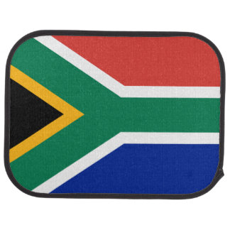 Südafrikanische Flagge der Südafrika-Auto-Matte Auto Fussmatte