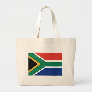 Südafrikanische Flagge Jumbo Stoffbeutel