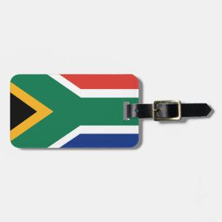 Südafrikanische Flagge Kofferanhänger