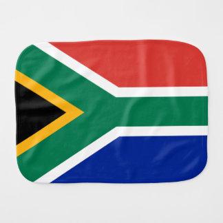 Südafrikanische Flagge von Südafrika Burpee Spucktuch