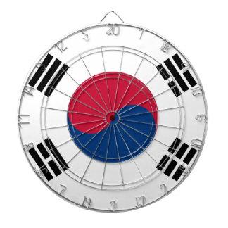 Südkorea-Flagge Dartscheibe