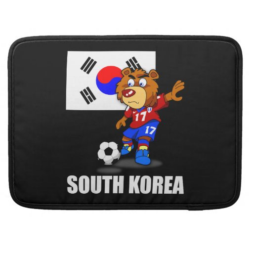 Südkorea-Fußball Macbook Prohülsen MacBook Pro Sleeve