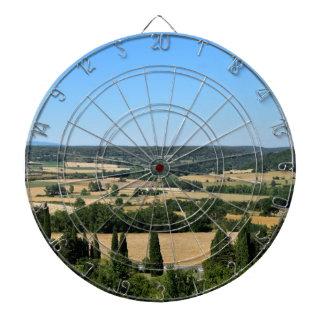 Südlich Frankreich-Feldes Dartscheibe