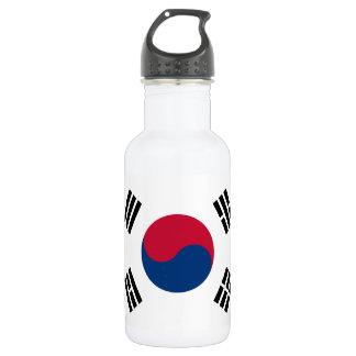 Südnationale Weltflagge koreas Edelstahlflasche