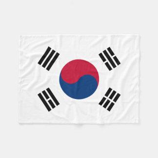 Südnationale Weltflagge koreas Fleecedecke