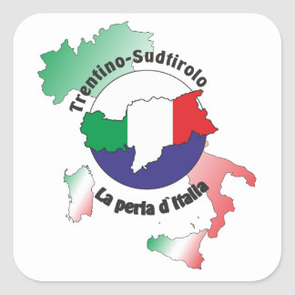 Südtirol – Alto Adige - Italien - Italia Aufkleber