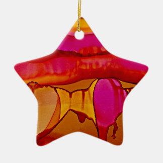 Südwestsonnenuntergang Keramik Ornament