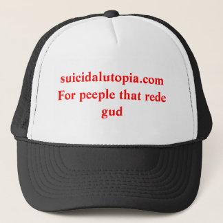 suicidalutopia.comFor peeple dieses rede GUD Truckerkappe