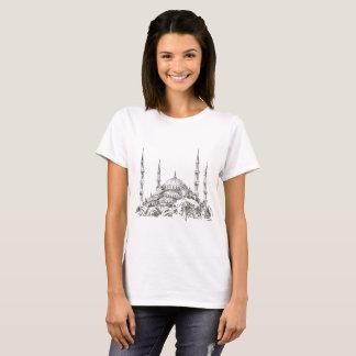 Sultan Ahmet Moscheen-weißer T - Shirt für Frauen