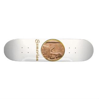 sumerisch personalisierte skateboards