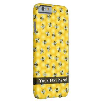 Summende Hummel-Bienen und goldenes Barely There iPhone 6 Hülle