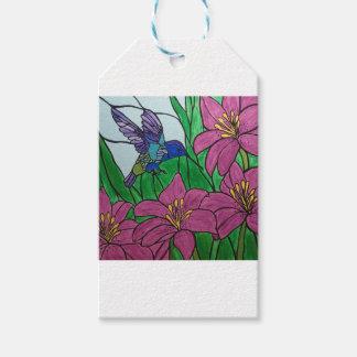 Summenvogel-Blumen Geschenkanhänger