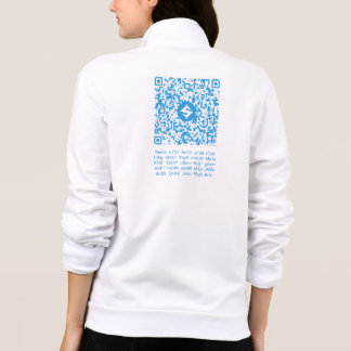 SUMO QR-Kleidung, hinterer QR-Code/Text, vorderes