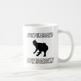 SUMO-WRESTLING-Entwürfe Kaffeetasse