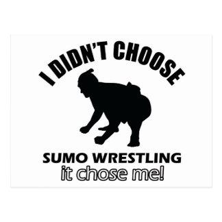 Sumo-Wringenentwurf Postkarte