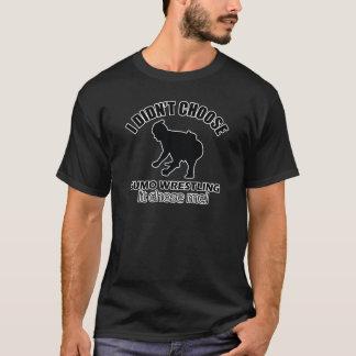 Sumo-Wringenentwurf T-Shirt
