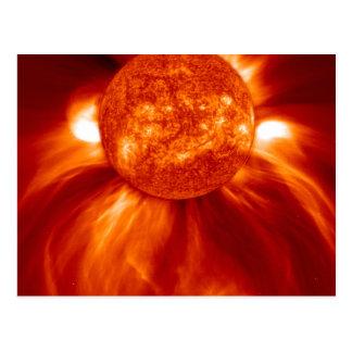 Sun-Explosion Postkarte