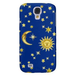 Sun, Mond u. Sterne Galaxy S4 Hülle