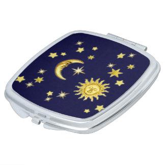 Sun, Mond u. Sterne Schminkspiegel