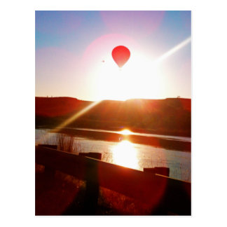 Sun-Strahl, Heißluftballon Postkarte
