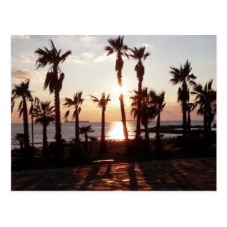 Sunset Postkarte
