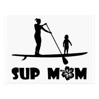 SUP Mamma Postkarte
